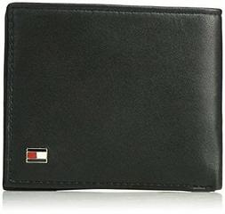Tommy Hilfiger Men's RFID Blocking 100% Leather Passcase Wal
