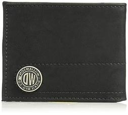 Dickies Men's RFID Blocking Bifold Wallet with Chain , -blac