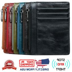 men s rfid blocking full grain leather