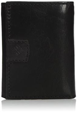 Columbia Men's Rfid Blocking Trifold Wallet With Interior Zi