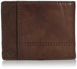 Columbia  Men's  RFID Security Blocking Traveler Wallet,Tan