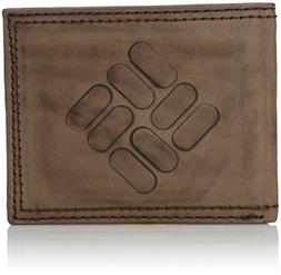 Columbia  Men's  RFID Security Blocking Traveler Wallet,Brow