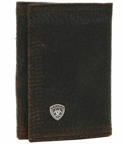 Ariat Men's Rowdy Tri-Fold Brown, One Size