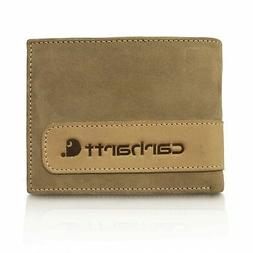 Carhartt Men's Twotone Billfold Wallet Brown One Size 61-220