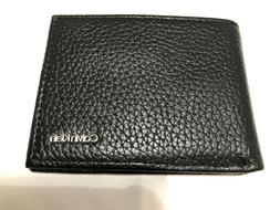 Calvin Klein Mens Classic Pebbled Leather Double Billfold ID