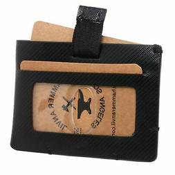 Hammer Anvil Mens Minimalist Front Pocket Wallet RFID Safe L