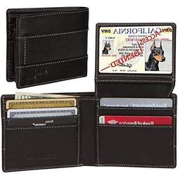 Access Denied Mens RFID Blocking Leather Slim Wallet Ballist