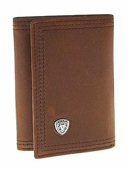 Ariat Mens Western Wallet/Performance Work/Tri-fold/Sunshine