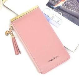 Metal business wallet for credit cards women money clip