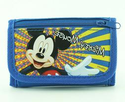 Disney Mickey Mouse Wallet for Toddler Children w/ Photo ID