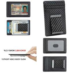 Travelambo Money Clip Front Pocket Wallet Slim Minimalist Wa