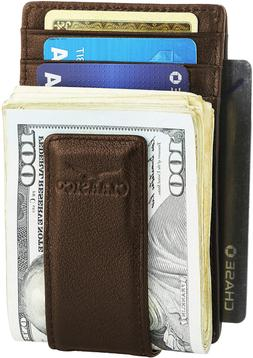 Claasico Money Clip Ultra Slim Wallet for Men With 11 Card S