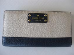 NEW! Kate Spade Stacy Bay Street Bifold Leather Wallet color