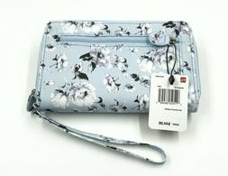 new my big fat wallet lt blue