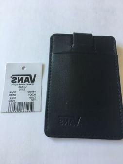 New VANS Off The Wall Strap Pouch Card Holder Black Skater S