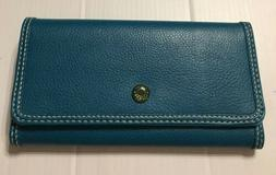 NEW Tommy Hilfiger Women's Teal Wallet