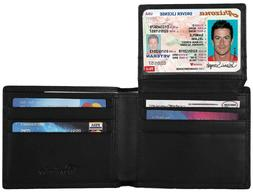 Nice Leather Wallet For Men Safety Travel Secure That Block