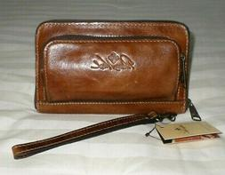 NWT Patricia Nash CATANIA Wallet/Wristlet DISTRESSED VINTAGE