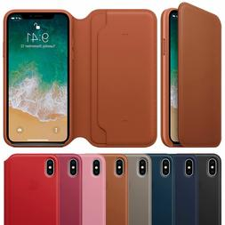OEM  Leather Folio Smart Flip Case Cover Card Wallet for A p