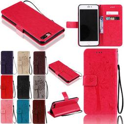 Pattern Stand Wallet Flip PU Leather Case Cover For iPhone 7