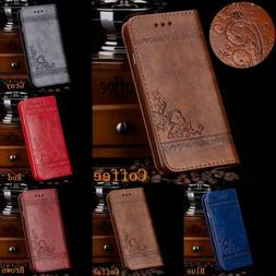Phone Case Cover Stand for iPhone XR XS MAX 8 6 Luxury Leath