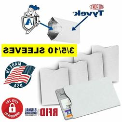 RFID Blocking Credit Card Protective  Sleeves for Men's Wall