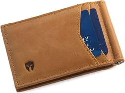 Rfid Blocking Slim Minimalist Id Outside Front Pocket Wallet
