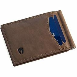 RFID Blocking Slim Minimalist Outside Front Pocket Wallet, M
