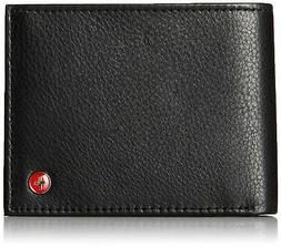 RFID SAFE Alpine Swiss Mens Deluxe Wallet Genuine Leather 14