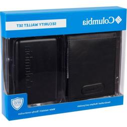 Columbia Security Wallet Set 1 Handcrafted 1 Hard Shell RFID