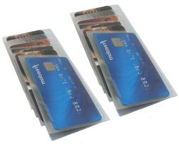 Set of 2 Wallet Inserts Replacement Picture or Credit Card H