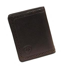 Ariat Ariat Shield Perforated Edge Bi-Fold Wallet Wallet Bla