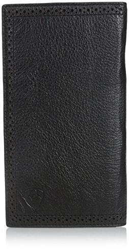 Ariat Ariat Shield Perforated Edge Rodeo Wallet Wallet Black