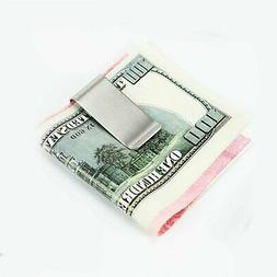 $Slim Clip Double Sided Money Clip Credit Card Holder Wallet