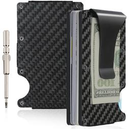 Slim Rigid Front Pocket With Cash, Money Clip and Multitool