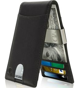 Slim Wallets For Men With Money Clip Bifold Wallet RFID Card