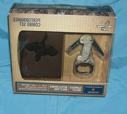 """""""REALTREE"""" Slimfold Wallet And Bottle Opener Multi-Tool Comb"""