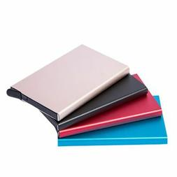 Test RFID Protector Aluminum Wallet Card Case For Metal ID C