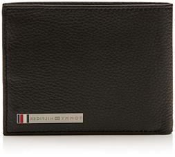 Tommy Hilfiger Th Plaque Extra Cc And Coin, Men's Wallet,