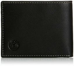 Men's Blix Slimfold Leather Wallet, Black, One Size
