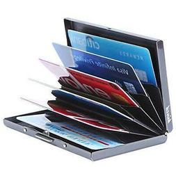 Kinzd Ultra Thin Aluminum Metal Wallet RFID Blocking Credit