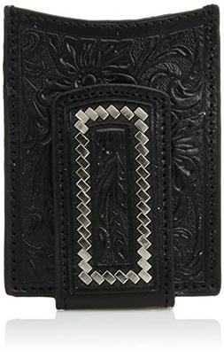 Ariat Unisex-Adult's Steel Lace Floral Magnetic Money Clip W