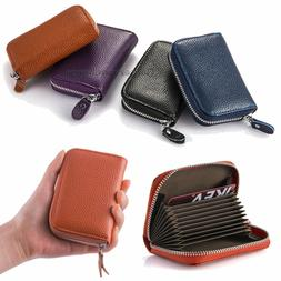 USA Women Wallet Leather Zip Coin Purse Clutch Handbag Small