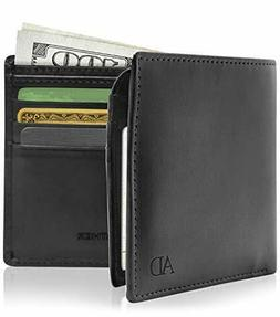 Vegan Leather Wallets For Men - Cruelty Free Non Leather Men