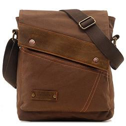 Aibag Messenger Bag, Vintage Small Canvas Shoulder Crossbody