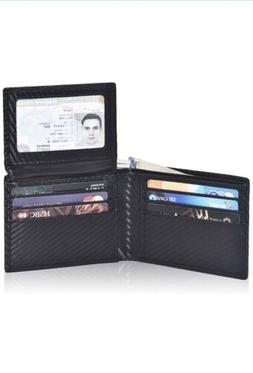 Clifton Heritage Wallet CARBON FIBER - RFID Bifold Stylish S