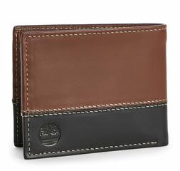 Timberland Mens Wallet Commuter Bifold Real Leather Billfold