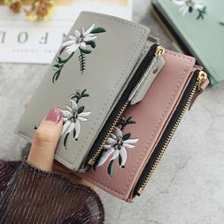 Wallet for Women Small Compact Credit Card Holder Mini Bifol