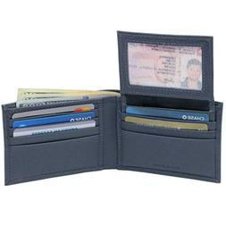 Alpine Swiss Mens Wallet Genuine Leather Removable ID Card C