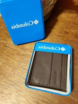 COLUMBIA  WALLET LEATHER MENS.